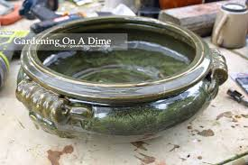 how to drill drainage holes in ceramic pots planters and more