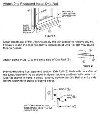 chrome framed shower door replacement drip rail with vinyl sweep