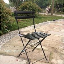 outdoor leisure iron balcony chairs coffee table folding garden
