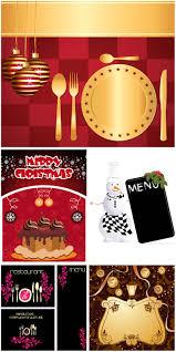 christmas restaurant menu templates vector vector graphics blog
