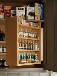 swing out spice cabinet wood mode fine custom cabinetry