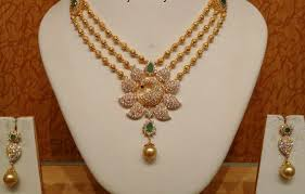 necklace designs images Latest gold necklace designs catalogue jpg