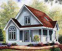 Cabin Plans With Porch Cabins U0026 Cottages Under 1 000 Square Feet Guest House Plans