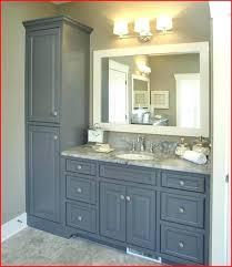 Bathroom Vanity Cabinet Sets Bathroom Vanity And Linen Cabinet Cabinets Voicesofimani