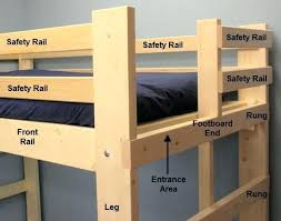 Bunk Bed Plans Pdf Free Loft Bed Plans Unispa Club