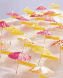 Creative Seating Place Escort Card Ideas For A Beach Wedding Martha Stewart Weddings