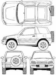dimensions of toyota rav4 the blueprints com blueprints cars toyota toyota rav4 3