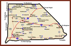 san bernardino ca map ghost towns of california san bernadino county