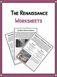 the renaissance period facts information u0026 worksheets lesson plans