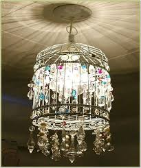 How To Make A Birdcage Chandelier Diy Birdcage Pleasant Birdcage Chandelier Fantastic Inspirational