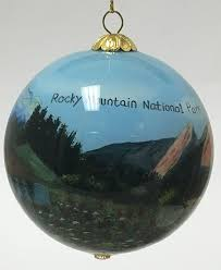 amazon com rocky mountain national park colorado reverse painted