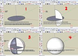 sketchup follow me sphere tuto by ninjatoespapercraft on deviantart