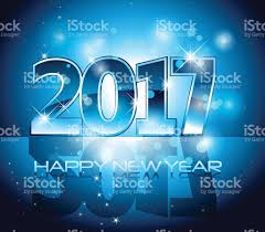 happy new year backdrop vector 2017 happy new year background blue letters stock vector