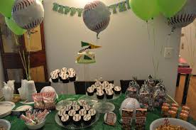 baseball birthday party theme home party ideas