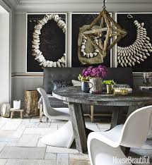 white and gray dining table 85 best dining room decorating ideas and pictures