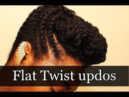 flat twist updo hairstyles pictures beautiful flat twist updos flat twist bun hairstyles for african