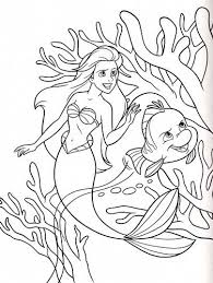 363 best ariel coloring pages images on pinterest coloring