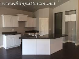 kitchen cabinets white kitchens with grey granite black and white