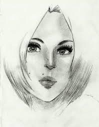 female face sketch 2 by eby7 on deviantart