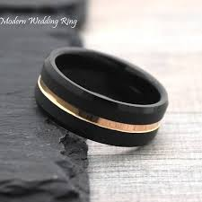 black wedding bands for men 8mm black wedding ring mens wedding band comfort fit mens
