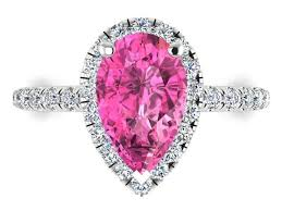 Pink Wedding Rings by Best 25 Pink Sapphire Engagement Rings Ideas On Pinterest