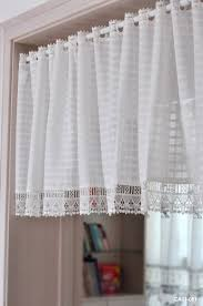 Kitchen Cabinet Valance Aliexpress Com Buy British Half Curtain Embroidery Window