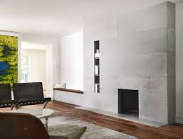 distressed concrete fireplace toronto anthony concrete design