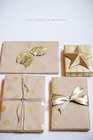 metallic gift wrap diy gift wrap popsugar smart living