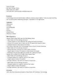 printable resume exles this is cosmetology instructor resume cosmetology instructor resume