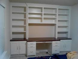 Ikea Desk And Bookcase Wall Units Awesome Built In Desks And Bookshelves Built In Desks