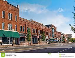 small town main street stock photo image of main village 35012288