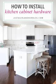 how to install knobs on kitchen cabinets how to install kitchen cabinet hardware