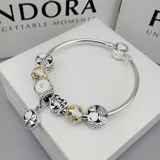 pandora jewelry silver bracelet images Pandora charm bracelet i love you mum 7 pcs charms JPG