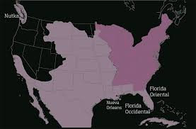 usa map louisiana purchase the louisiana purchase and the onís treaty diseñar america