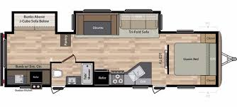 Front Living Room 5th Wheel Floor Plans Keystone Rvs For Sale Camping World Rv Sales