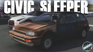 Civic 1980 1986 Honda Civic Si 700hp Sleeper Wheelie Build Forza 6