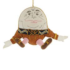 humpty dumpty in ornament