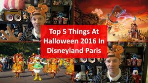 halloween at disneyland top 5 things at halloween 2016 in disneyland paris youtube