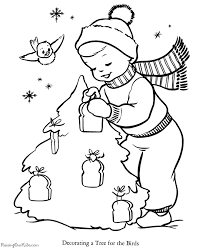 printable christmas tree coloring pages 007