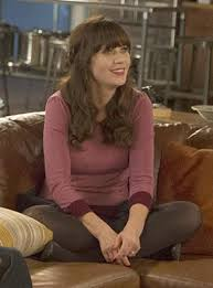 zooey deschanel new girl fashion wwzdw what would zooey deschanel s purple sweater with peter pan collar on new girl