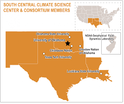 South Louisiana Map by South Central Csc Climate Science Centers U0026 National Climate