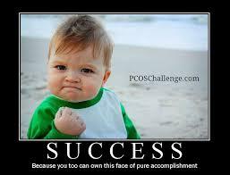 Triumphant Baby Meme - 20 best pcos triumphs images on pinterest challenge pcos