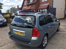 peugeot 307 sw used 2007 peugeot 307 sw 1 6 hdi s 5dr for sale in ongar essex