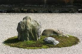 Rock Zen Garden Why Do Zen Gardens Several Stones On Top Of Each Other And