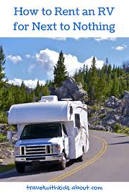 Best Time To Rent A House Best 25 Rv Rental Ideas On Pinterest Rv Rv Checklist And Rv Tips