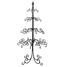 display your ornaments in style with the metal wire
