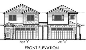 corner lot floor plans duplex house plans corner lot house plans d 554 a