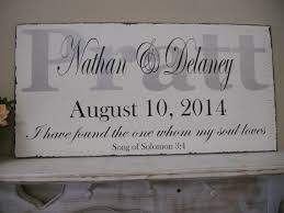 personalized wedding plaque personalized wedding signsilver and black wedding wedding