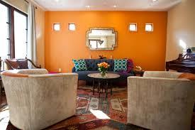 Orange Walls Sunny Merry Hgtv