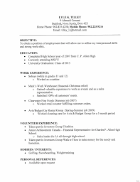 exle of a high school resume hospitality sle resume what a should look like 20a 2017 in for